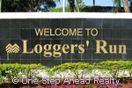 Loggers Run community sign